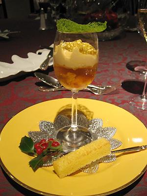 パン パシフィック 横浜ベイホテル東急 カフェ トスカ クリスマスディナー