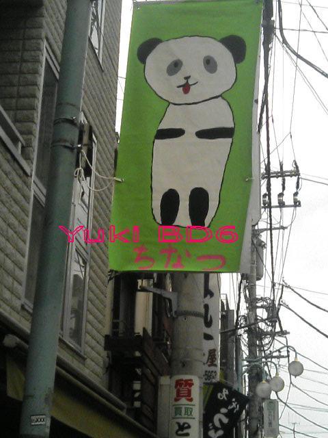 ちなつのパンダ