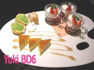 ゴンゾウ祭り-デザート盛り