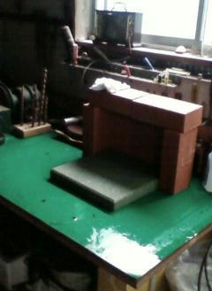 銀細工作業台