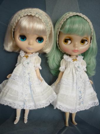 白白ドレス