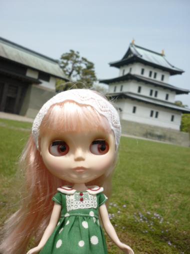 松前城だよ。