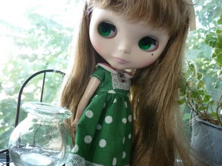 緑のガラス