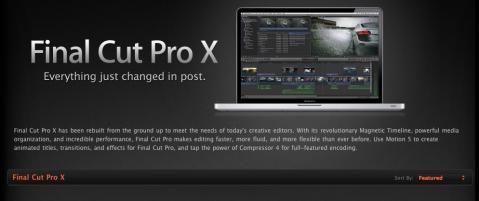 Final Cut Pro ?