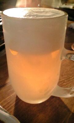 焼肉店 生ビール