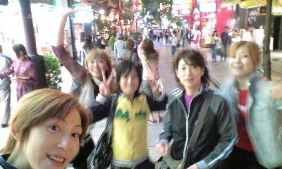 横浜中華街 嬉しすぎてボケてます