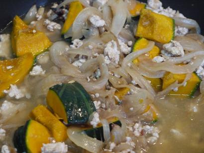 かぼちゃの豆乳カレーレシピ3