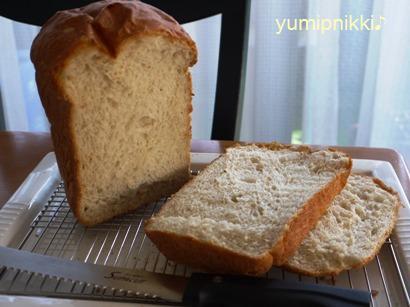 メープルバナナ食パン☆