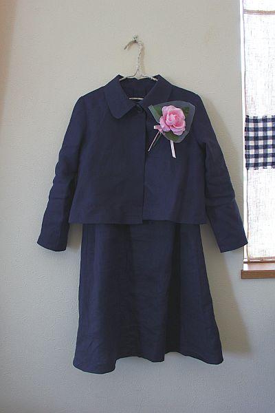 卒園式娘服。