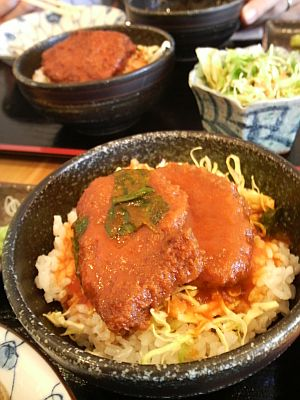 トマトソースカツ丼♪