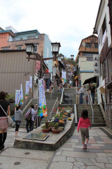 伊香保温泉日本の名湯。