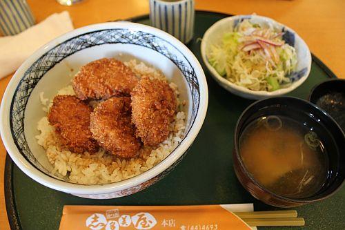 ソースカツ丼!