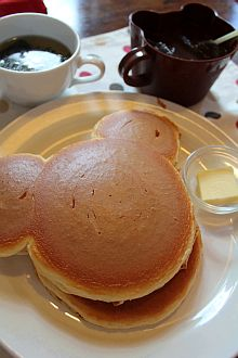 クマさんホットケーキ。^^