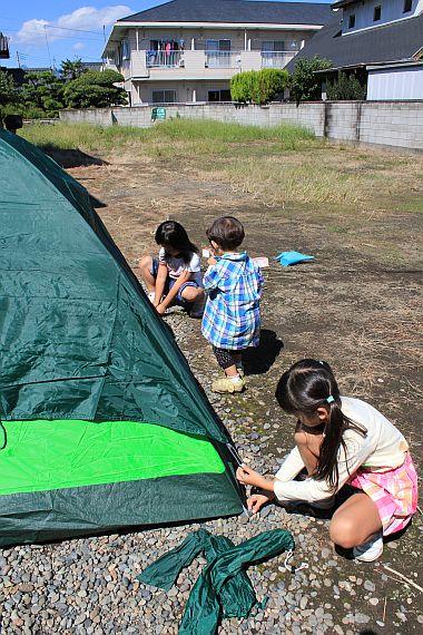 キャンプ!?