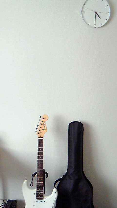 ギターと時計とか