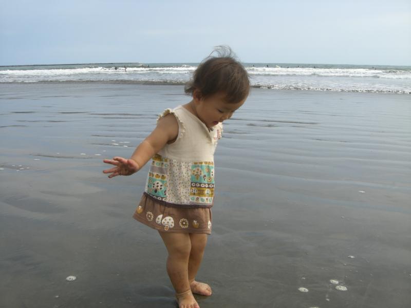 柚子香と海♪