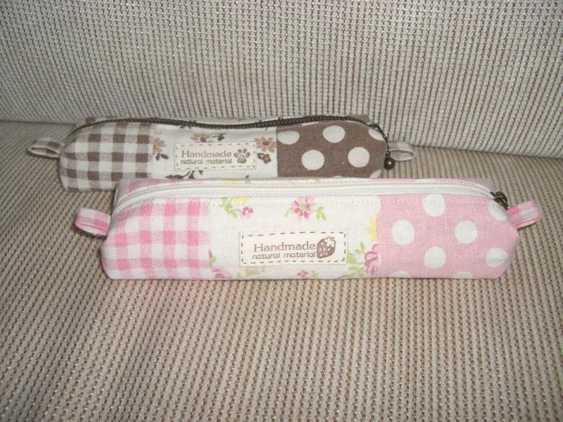 ピンクのペンケース♪