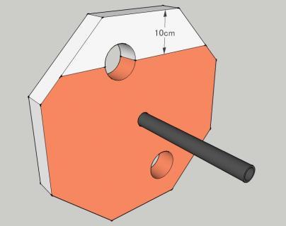 コンポスト断熱側板