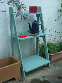 ガーデンラック補修と塗装4
