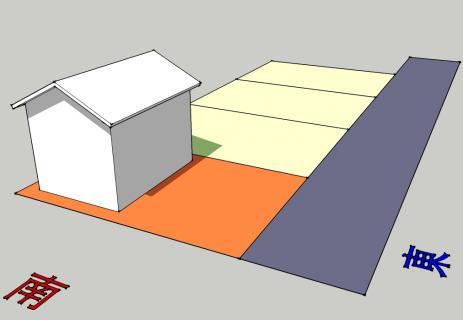 太陽電池-東向き