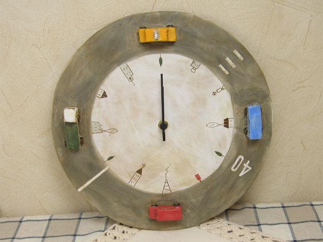 ブーブー壁掛け時計