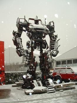 北京の用品見本市ロボット