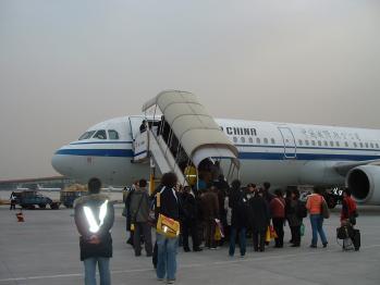 北京空港CA183御苦労02