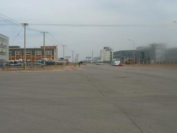 工場前道路01