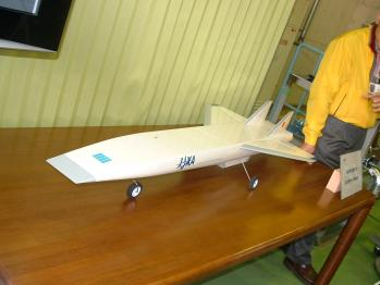 JAXA-極超音速機模型001