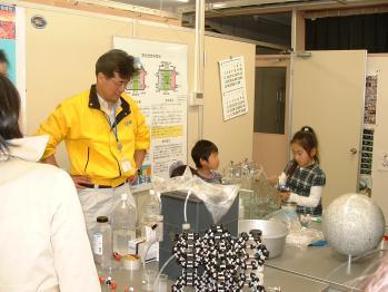 JAXA-子供H2O電気分解教室