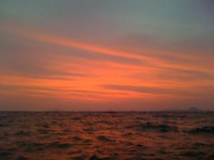 100614琵琶湖の朝