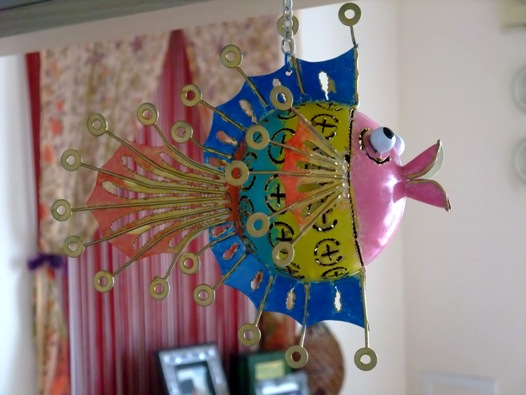 お魚モービル1