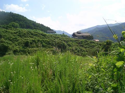 福沢の集落