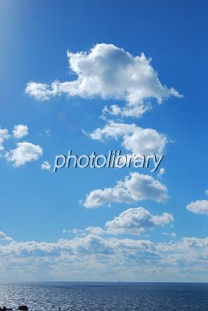 540579 連なる雲