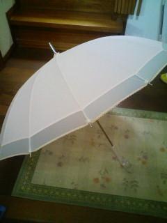 可愛い傘&静かな1日