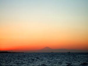 千葉港の夕日