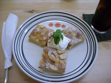 リンゴのバターケーキ