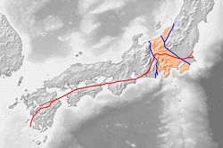 400px-Tectonic_map_of_southwest_Japan.jpg