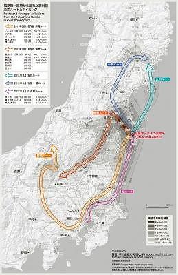 汚染ルートとタイミング(9月30日改訂)