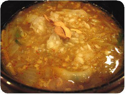 カレーつけ麺(大盛)
