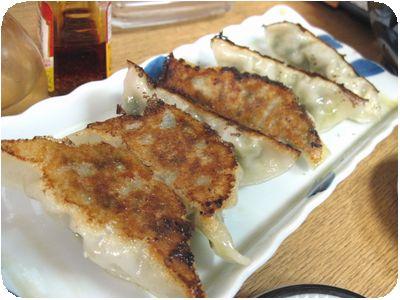 特製焼き餃子