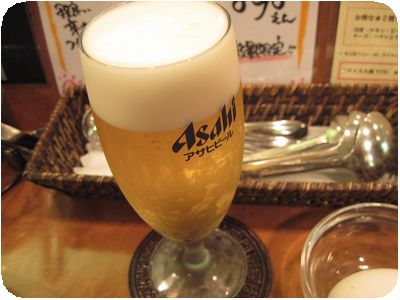 生ビール(グラス)