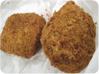 コロッケ+豆腐コロッケ