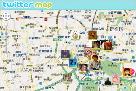 Twitterマップ