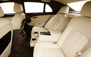 ベントレーのシート(2011 Bentley Mulsanne)