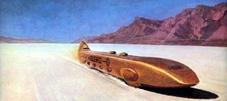 """1965年ユタ:動輪車では最高速の""""ゴールデン・ロッド""""号"""
