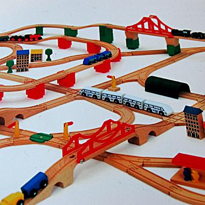 Micki Railway Set