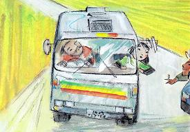「みさきめぐりのとしょかんバス」より