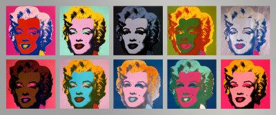 「10 Marilyns」(1967)