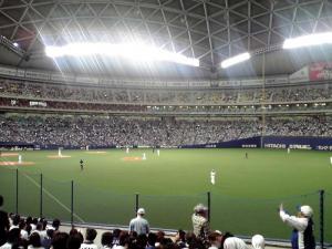 2011.10.19 ナゴヤドーム(試合の様子)